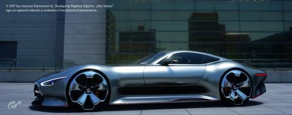 Mercedes-Benz AMG Vision Gran Turismo, iridiumsilber
