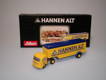 Mercedes Koffer - Hannenalt