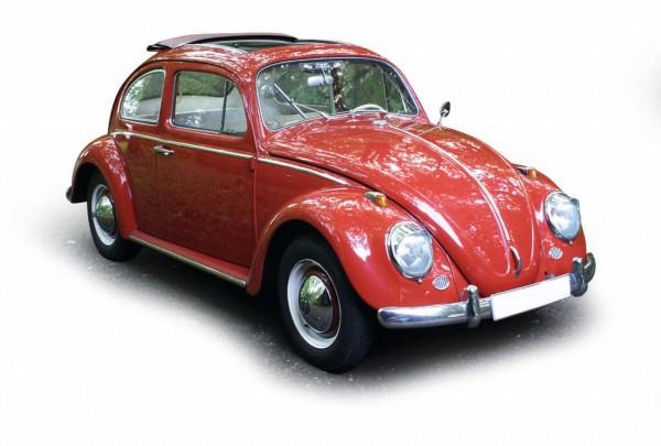 "VW Käfer Faltdachlimousine""1963"", rot"
