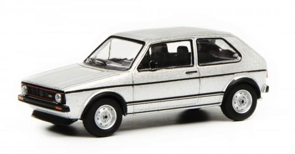 VW Golf GTI, silber