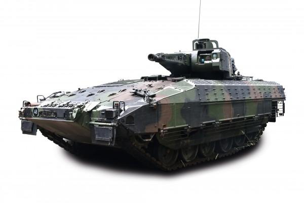 Puma Schützenpanzer, flecktarn