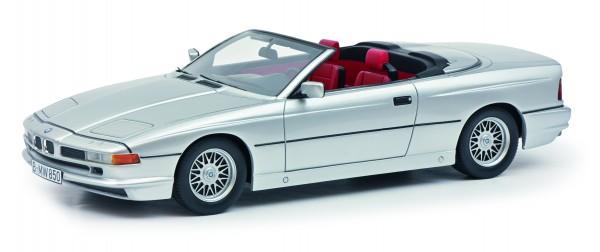 BMW 850 Ci Cabriolet, silber
