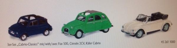 "3-Set ""Cabrio-Classics"""
