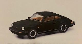 Porsche 911 Carrera 3.2 Coupé, schwarz