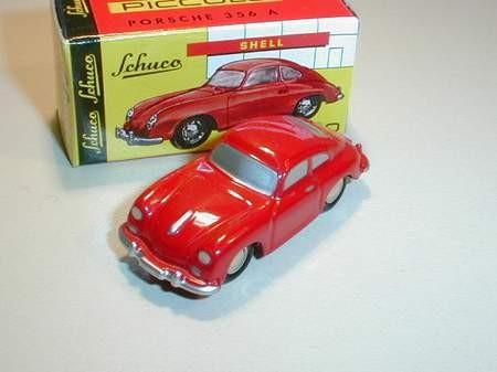 Porsche 356 A, rot
