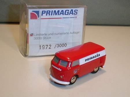 VW T1 Kasten, Primagas