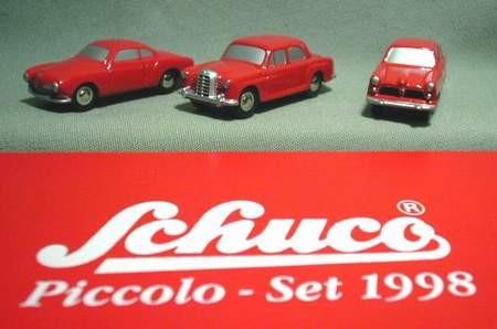 Schuco Piccolo Jahresset 1998