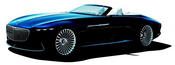 Mercedes-Maybach Vision 6 Convertible