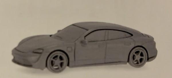 Porsche Taycan Turbo S, schwarz