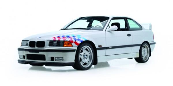 BMW M3 (E36) Lightweight, weiß