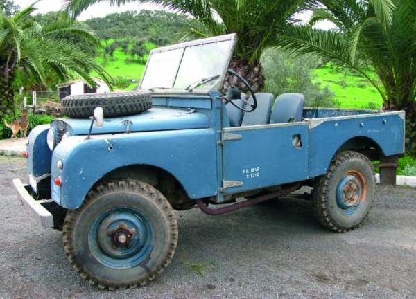 Land Rover 80 offen