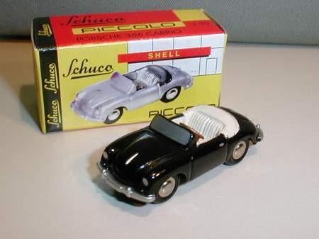Porsche 356 A Cabrio, schwarz