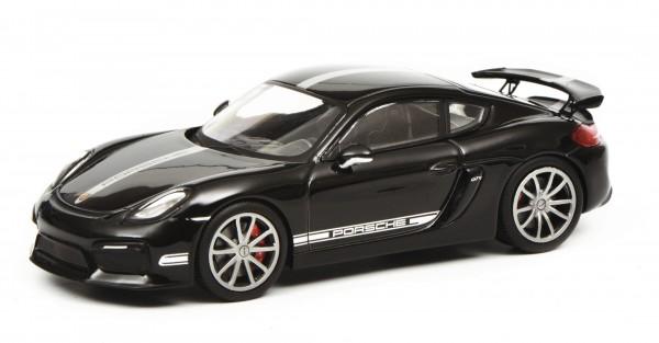 Porsche Cayman GT4, schwarz
