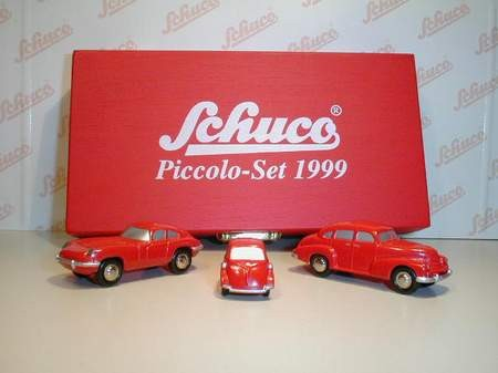 Schuco Piccolo Jahresset 1999