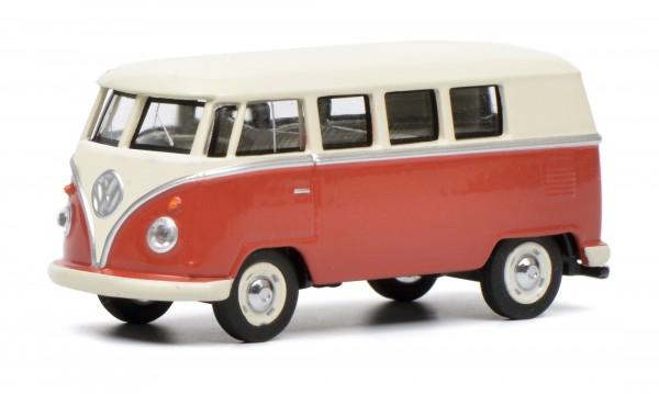 VW T1 Bus, rot-beige