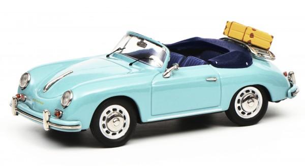"""Porsche 356 A Cabriolet """"Reisezeit"""", meißenblau"""