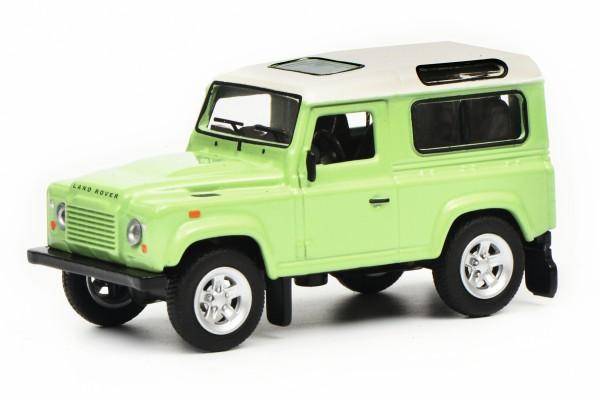 Land Rover Defender, grün-weiß