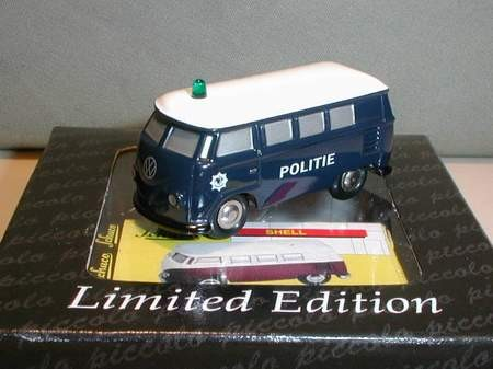 VW T1 Bus, Politie, Niederlande