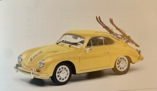 """Porsche 356 Carrera Coupé """"Ski-Urlaub"""""""