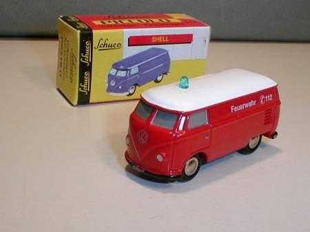 VW T1 kasten, Feuerwehr