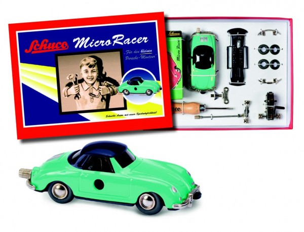 "Micro Racer ""Porsche 356"" Montagekasten"