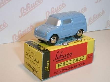 VW Fridolin, blau