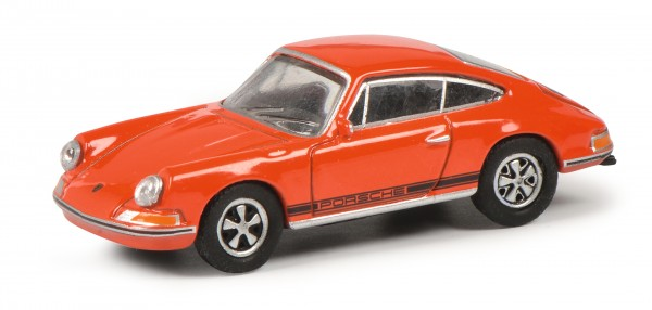 Porsche 911 S, blutorange