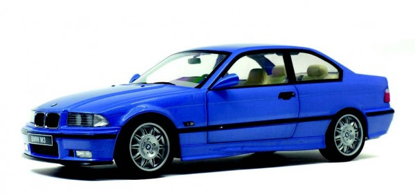 BMW M3 (E36), blau metallic