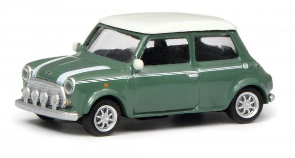 Mini Cooper, grün/weiß