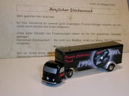 Mercedes-Benz Koffersattelzug Collector Truck