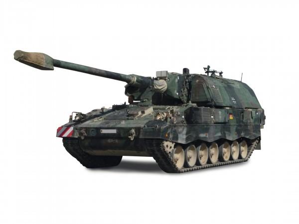 Panzerhaubitze 2000, flecktarn