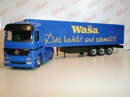 Mercedes-Benz Actros Koffersattelzug 2a/3a Wasa