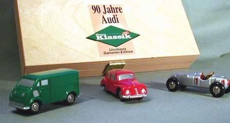 Set 90 Jahre Audi