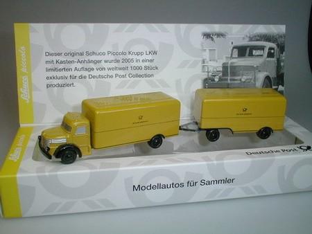 """Krupp LKW mit Anhänger """"DBP"""""""