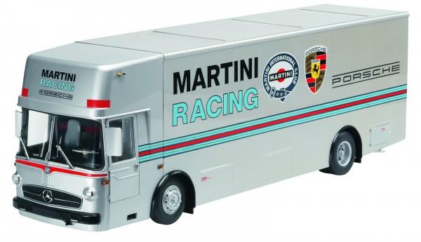 "Renntransporter ""Martini Racing"", silber"