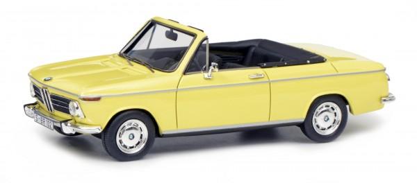 BMW 2002 Cabrio 2/2 (Baur), gelb