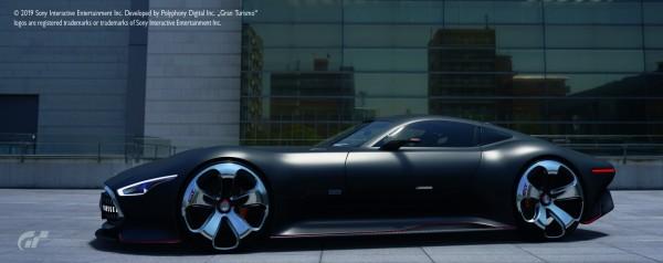 Mercedes-Benz AMG Vision Gran Turismo, matt schwarz
