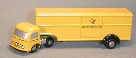 Mercedes-Benz Koffersattelzug, Deutsche Bundespost