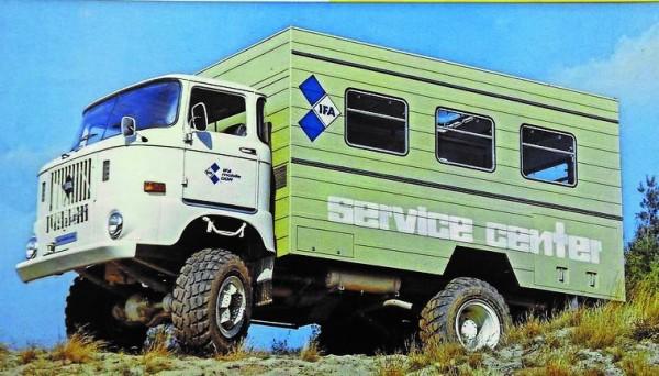 """IFA W50 Koffer-LKW """"Fortschritt Service"""""""