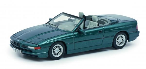 BMW 850 Ci Cabriolet, grün-metallic