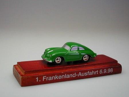 Porsche 356 A, 1. Frankenlandausfahrt
