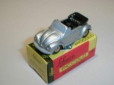 VW Käfer Cabrio, silbern