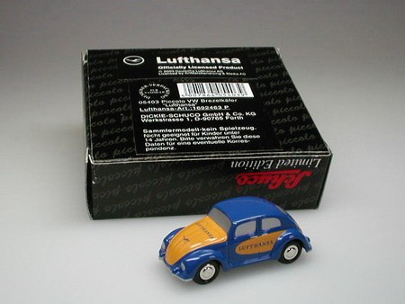"""VW Brezelkäfer """"Lufthansa"""""""