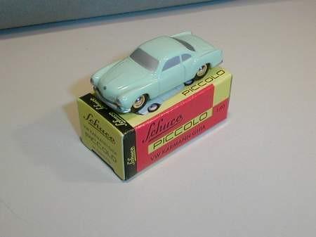 VW Karmann Ghia, lindgrün