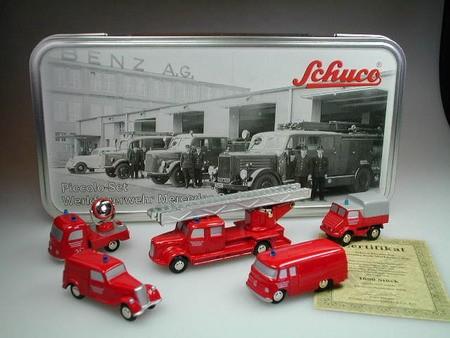 """Piccolo Set """"Werkfeuerwehr Mercedes-Benz"""""""