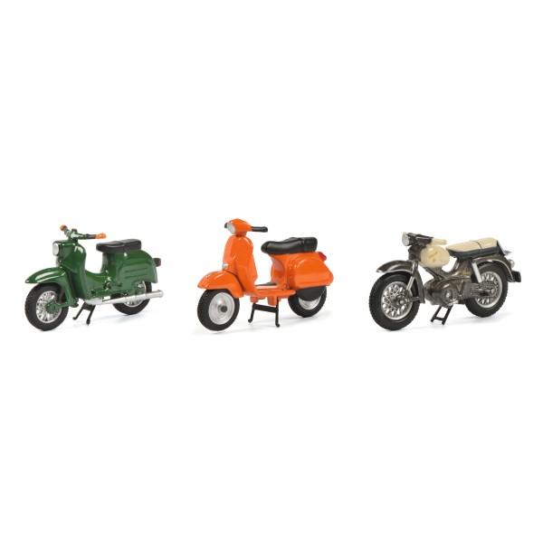 """3er Set """"Motorbikes"""""""