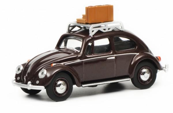 "VW Käfer ""Reisezeit"", dunkelrot"