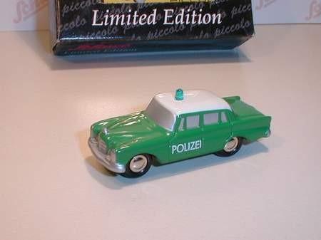 Mercedes-Benz 220SE, Polizei