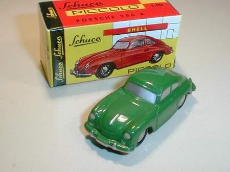 Porsche 356 A, grün