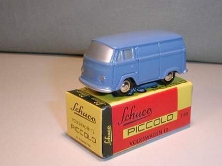 VW T2 Kasten, blau